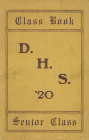 1920 Edition, Darby High School - Yearbook (Darby, PA)