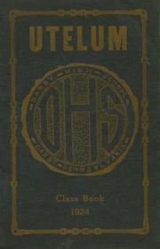 Page 1, 1924 Edition, Darby High School - Yearbook (Darby, PA) online yearbook collection