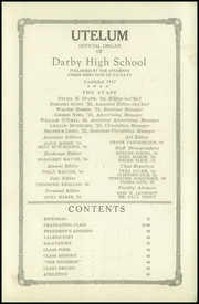 Page 5, 1924 Edition, Darby High School - Yearbook (Darby, PA) online yearbook collection
