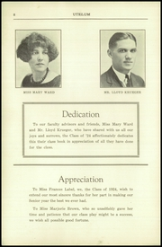 Page 8, 1924 Edition, Darby High School - Yearbook (Darby, PA) online yearbook collection