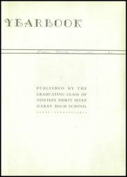 Page 7, 1937 Edition, Darby High School - Yearbook (Darby, PA) online yearbook collection