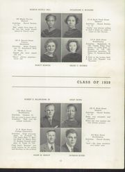 Page 15, 1939 Edition, Darby High School - Yearbook (Darby, PA) online yearbook collection