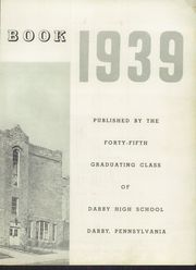 Page 5, 1939 Edition, Darby High School - Yearbook (Darby, PA) online yearbook collection