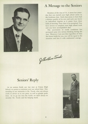 Page 10, 1951 Edition, Union High School - Utopian Yearbook (New Castle, PA) online yearbook collection