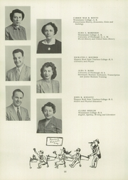Page 16, 1951 Edition, Union High School - Utopian Yearbook (New Castle, PA) online yearbook collection
