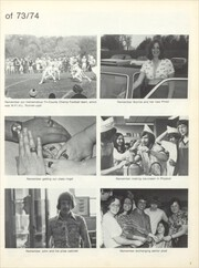 Page 7, 1974 Edition, Union High School - Utopian Yearbook (New Castle, PA) online yearbook collection