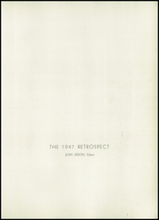 Page 5, 1947 Edition, Ridley Park High School - Retrospect Yearbook (Ridley Park, PA) online yearbook collection