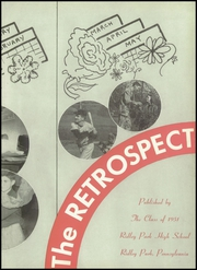Page 7, 1951 Edition, Ridley Park High School - Retrospect Yearbook (Ridley Park, PA) online yearbook collection