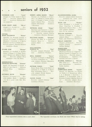 Page 15, 1952 Edition, Redbank Valley High School - Vallis Yearbook (New Bethlehem, PA) online yearbook collection
