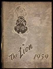 Page 1, 1959 Edition, Chestnut Ridge High School - Lion Yearbook (New Paris, PA) online yearbook collection