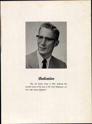 Page 9, 1959 Edition, Chestnut Ridge High School - Lion Yearbook (New Paris, PA) online yearbook collection