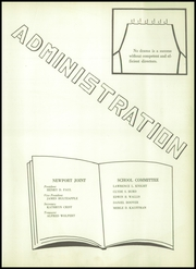 Page 9, 1954 Edition, Newport High School - Blunita Yearbook (Newport, PA) online yearbook collection