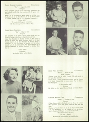 Page 15, 1955 Edition, Newport High School - Blunita Yearbook (Newport, PA) online yearbook collection