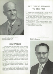 Page 10, 1957 Edition, Chartiers Houston High School - Charconge Yearbook (Houston, PA) online yearbook collection