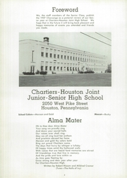 Page 8, 1957 Edition, Chartiers Houston High School - Charconge Yearbook (Houston, PA) online yearbook collection