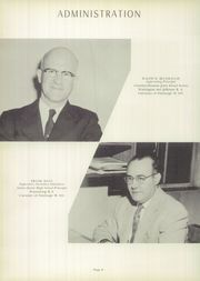 Page 10, 1958 Edition, Chartiers Houston High School - Charconge Yearbook (Houston, PA) online yearbook collection