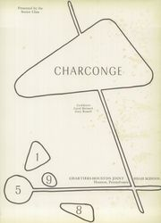 Page 5, 1958 Edition, Chartiers Houston High School - Charconge Yearbook (Houston, PA) online yearbook collection