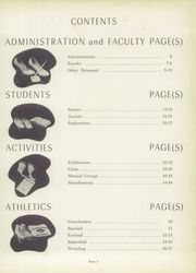 Page 7, 1958 Edition, Chartiers Houston High School - Charconge Yearbook (Houston, PA) online yearbook collection