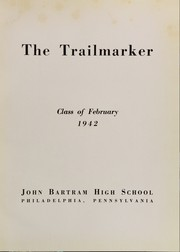 Page 7, 1942 Edition, John Bartram High School - Trailmarker Yearbook (Philadelphia, PA) online yearbook collection