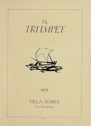 Page 3, 1931 Edition, Villa Maria Academy - Trumpet Yearbook (Erie, PA) online yearbook collection