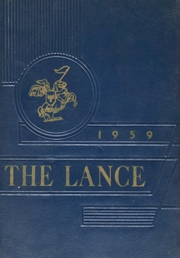 1959 Edition, Eisenhower High School - Lance Yearbook (Russell, PA)