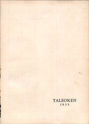 Page 3, 1935 Edition, New Kensington High School - Taleoken Yearbook (New Kensington, PA) online yearbook collection