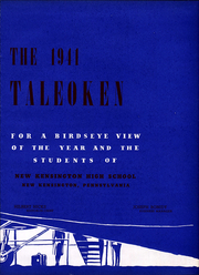 Page 9, 1941 Edition, New Kensington High School - Taleoken Yearbook (New Kensington, PA) online yearbook collection