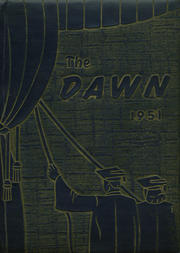 1951 Edition, Brockway Area High School - Dawn Yearbook (Brockway, PA)