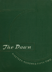 1952 Edition, Brockway Area High School - Dawn Yearbook (Brockway, PA)