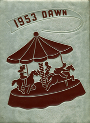 1953 Edition, Brockway Area High School - Dawn Yearbook (Brockway, PA)