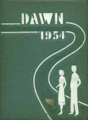 1954 Edition, Brockway Area High School - Dawn Yearbook (Brockway, PA)
