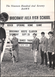 Page 5, 1970 Edition, Brockway Area High School - Dawn Yearbook (Brockway, PA) online yearbook collection