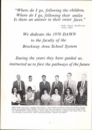 Page 6, 1970 Edition, Brockway Area High School - Dawn Yearbook (Brockway, PA) online yearbook collection