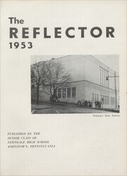 Page 5, 1953 Edition, Ferndale High School - Reflector Yearbook (Johnstown, PA) online yearbook collection