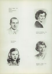 Page 16, 1952 Edition, Rocky Grove High School - Hilltopper Yearbook (Franklin, PA) online yearbook collection