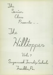 Page 6, 1952 Edition, Rocky Grove High School - Hilltopper Yearbook (Franklin, PA) online yearbook collection