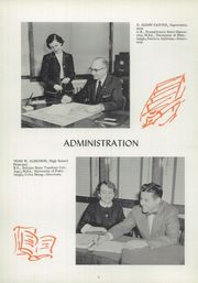 Page 10, 1957 Edition, Rocky Grove High School - Hilltopper Yearbook (Franklin, PA) online yearbook collection