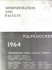 Page 8, 1966 Edition, Tulpehocken High School - Yearbook (Bernville, PA) online yearbook collection