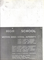 Page 9, 1966 Edition, Tulpehocken High School - Yearbook (Bernville, PA) online yearbook collection