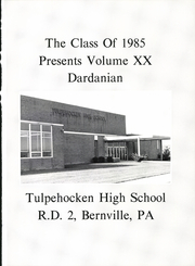Page 5, 1985 Edition, Tulpehocken High School - Yearbook (Bernville, PA) online yearbook collection