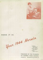 Page 5, 1944 Edition, Norwin High School - Pennon Yearbook (Irwin, PA) online yearbook collection