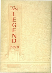 Page 1, 1959 Edition, Chief Logan High School - Legend Yearbook (Lewistown, PA) online yearbook collection