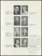 Page 13, 1946 Edition, Coudersport High School - Couderean Yearbook (Coudersport, PA) online yearbook collection