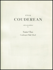 Page 6, 1946 Edition, Coudersport High School - Couderean Yearbook (Coudersport, PA) online yearbook collection