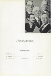 Page 9, 1935 Edition, Leechburg High School - Minetas Yearbook (Leechburg, PA) online yearbook collection