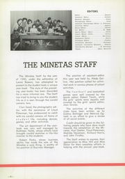 Page 12, 1940 Edition, Leechburg High School - Minetas Yearbook (Leechburg, PA) online yearbook collection