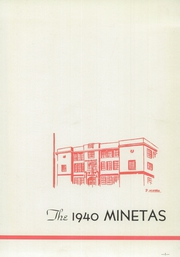 Page 5, 1940 Edition, Leechburg High School - Minetas Yearbook (Leechburg, PA) online yearbook collection