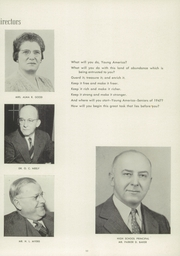 Page 15, 1947 Edition, Leechburg High School - Minetas Yearbook (Leechburg, PA) online yearbook collection