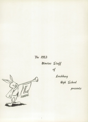 Page 5, 1953 Edition, Leechburg High School - Minetas Yearbook (Leechburg, PA) online yearbook collection