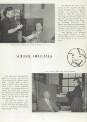 Page 13, 1954 Edition, Leechburg High School - Minetas Yearbook (Leechburg, PA) online yearbook collection